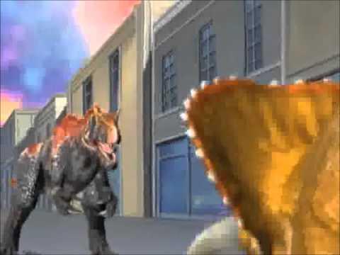 Saurophaganax Dinosaur King The Last Song AMV lyrics