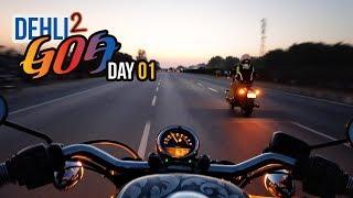 Riding Custom Harley to GOA! IBW