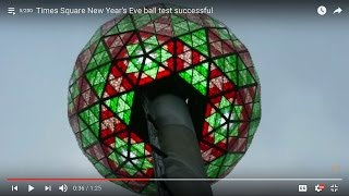 The 88 HEX of the Time Square New Year's Eve BALL | BAAL All Seeing Eye of Saturn