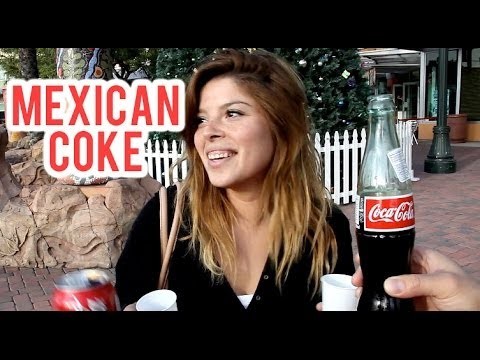 MEXICAN COKE CHALLENGE Can People Tell The Difference