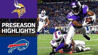 Vikings vs. Bills | NFL Preseason Week 1 Game Highlights