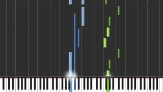 synthesia  dark knight  ffxii piano