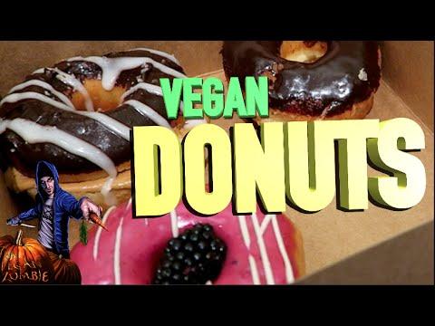 Vegan Donuts and Ethiopian Food | The Vegan Zombie Z VLOG