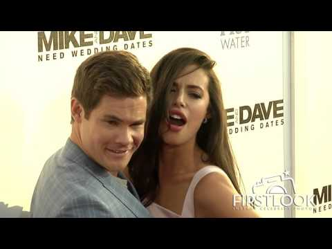 Xxx Mp4 Chloe Bridges And Adam Devine At Mike And Dave Need Wedding Dates LA Premiere 3gp Sex