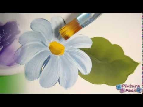 Como Pintar con Doble Carga One Stroke Painting Pintura Facil Para Ti