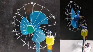 How to make a Revolving Fan At Home