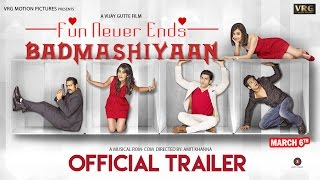"""Badmashiyaan"" Movie Official Trailer I Sharib Hashmi, Sidhant, Suzanna Mukherjee, Karan, Gunjan ."