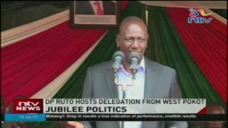 DP Ruto urges West Pokot leaders to support Jubilee development agenda