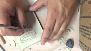Tuesday Class Leather hard Decorating Demo