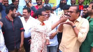 അവാര്ഡ് തിളക്കവുമായി ഇന്ദ്രന്സ് സെറ്റില്_Reporter Live