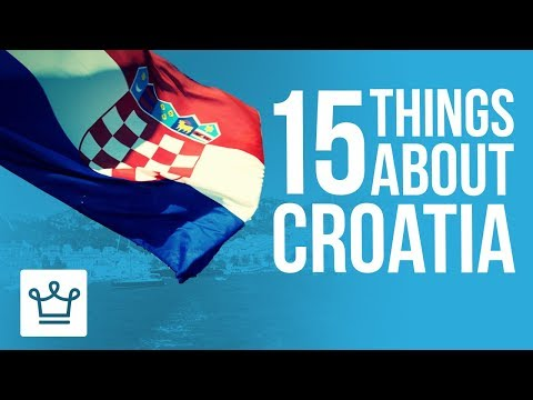 Xxx Mp4 15 Things You Didn T Know About Croatia 3gp Sex