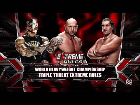 Xxx Mp4 WWE 2K15 Great Khali Vs Batista Vs Rey Mysterio For World Heavyweight Champion 2015 PS4 3gp Sex