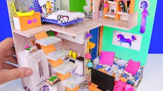 5 DIY Miniature Dollhouse Rooms