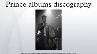 Prince albums discography