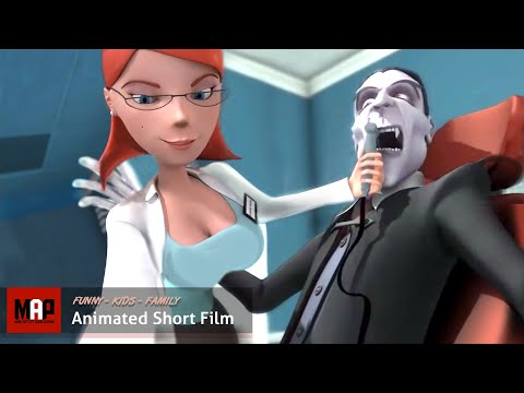 CGI Sexy Animated Film VAMPIRE S CROWN Funny animation by Hertfordshire University