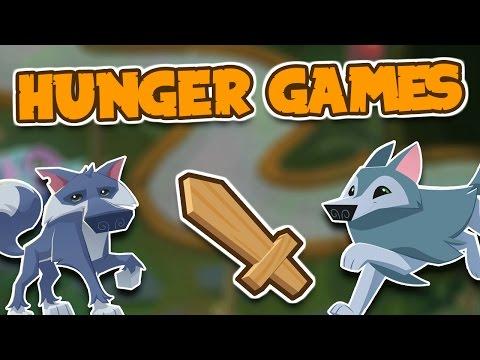 HUNGER GAMES IN ANIMAL JAM