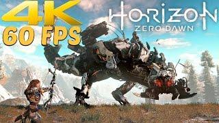 Horizon Zero Dawn - 4K 60FPS Gameplay Demo PS4 PRO [2160p 60fps Ultra HD]