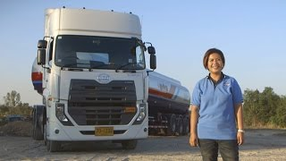 UD Trucks - Ultimate power, ultimate confidence: On the road with Quester