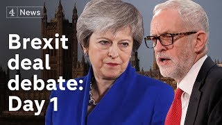 Brexit deal debate LIVE: Day  1