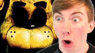 Five Nights At Freddy's Fail - GOLDEN FREDDY?! (iPad Gameplay Video)