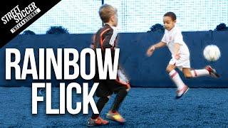 Learn Neymar Skills - Rainbow flick - Little STRs Kids coached by STR skill School