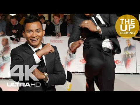 Xxx Mp4 Tony Jaa Shows Off Martial Art Move At XXX Return Of Xander Cage Premiere In London 3gp Sex