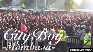 CITYBOY BAWAZIR SHUTS DOWN MOMBASA @ GOVERNOR JOHO's concert