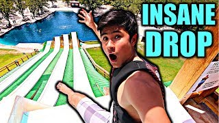 EPIC WATER SLIDE! (FUNNY FAILS)