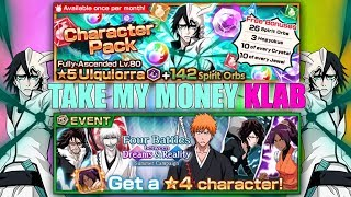 Take My Money KLAB [Bleach Brave Souls]