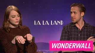 Why Emma Stone and Ryan Gosling felt like 8 year olds on the set of
