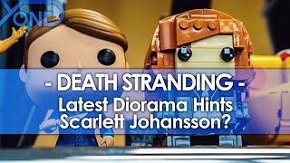 Latest Death Stranding Diorama Hints Scarlett Johansson?
