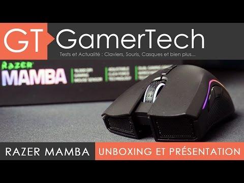 Razer Mamba Chroma - Unboxing et Test [FR] - Une excellente souris gamer sans fil !