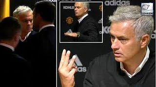 Jose Mourinho Furiously Demands Respect As Storms Out Of A Press Conference