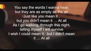 Karaoke | AUREA - I Didn t Mean it | Ricardo Pereira band