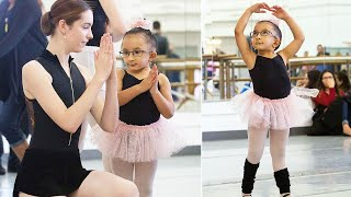 6-Year-Old Girl with Brittle Bone Disease Finds Herself in Special Dance Class