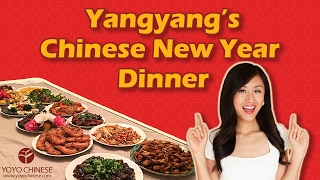 Have Chinese New Year Dinner with Yangyang