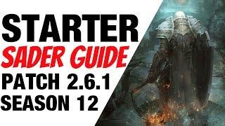Patch 2.6.1 Crusader Starter Build Guide Season 12 Diablo 3
