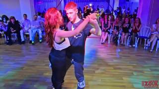 RZC 2016 — Zouk Jack & Jill Intermediate Finals Couple 5 II Siberian Zouk Congress 2016