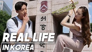 Living as a foreign student in Korea|Comparing Best Korean Language Schools in Seoul(Cost & Housing)