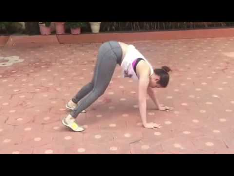 Tamanna New Exercise Video