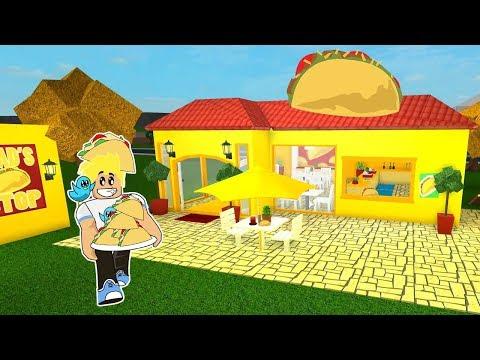 Chad's Taco Stop Restaurant in Roblox / Bloxburg Building / Gamer Chad