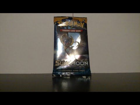 Opening A Repackaged Pokemon Sun And Moon Booster Pack