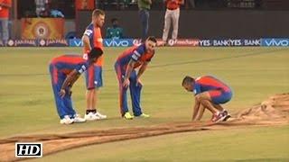 IPL 9 GL vs KXIP: Gujarat Lions Practice Session