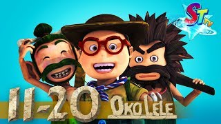Oko Lele - Full Episodes collection (11-20) - animated short CGI - funny cartoon - Super ToonsTV