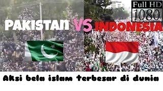 Inilah PERBANDINGAN 2 Negara MUSLIM terbesar di DUNIA Pakistan - Indon