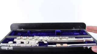Beginner Flute Lesson 1 - Opening the Case & Naming the Parts