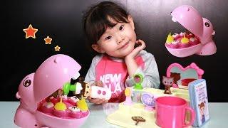 라임이의 아기하마 양치놀이 ❤︎ 엉뚱발랄 콩순이 장난감 치과의사 병원놀이 LimeTube & Toy 라임튜브