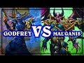 Download Video Download Hearthstone ~ Lord Godfrey VS Mal'Ganis ~ The Witchwood 3GP MP4 FLV