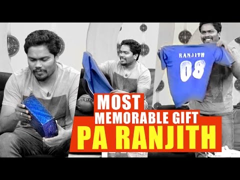 Most Memorable Gift, Director Pa Ranjith | Puthuyugam TV