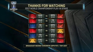 2017 World Championship: Play-In Day 3 part.2
